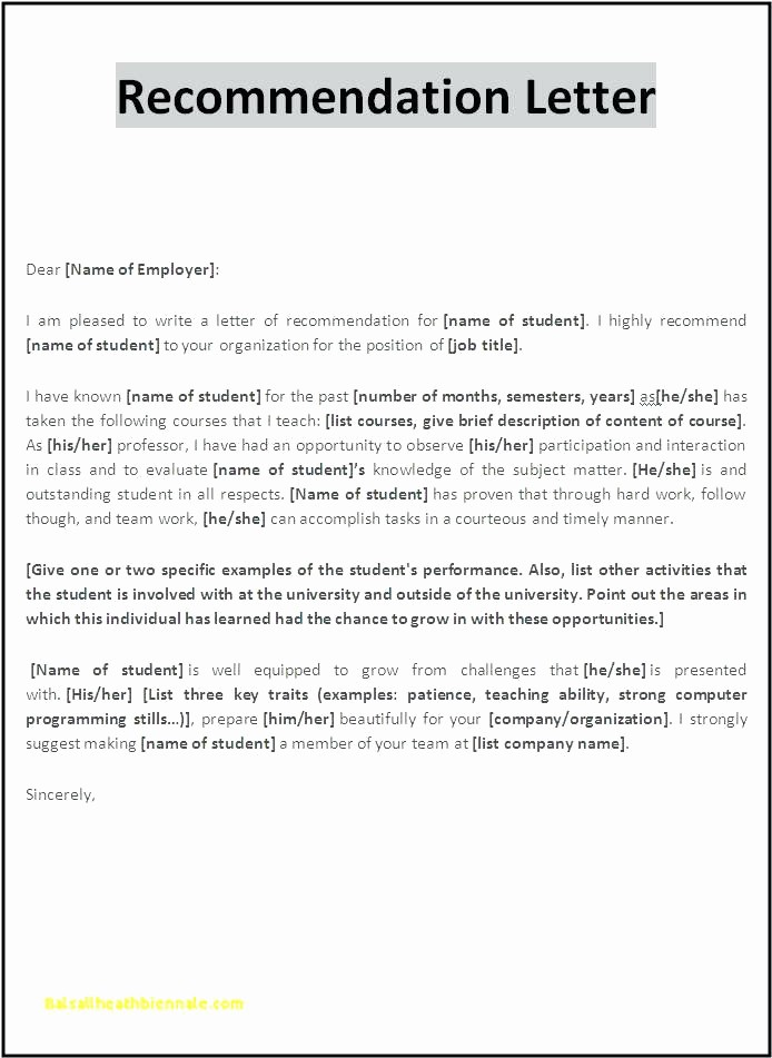 Copy Of A Reference Letter Unique Sample Reference Letter for Employee Useful Template