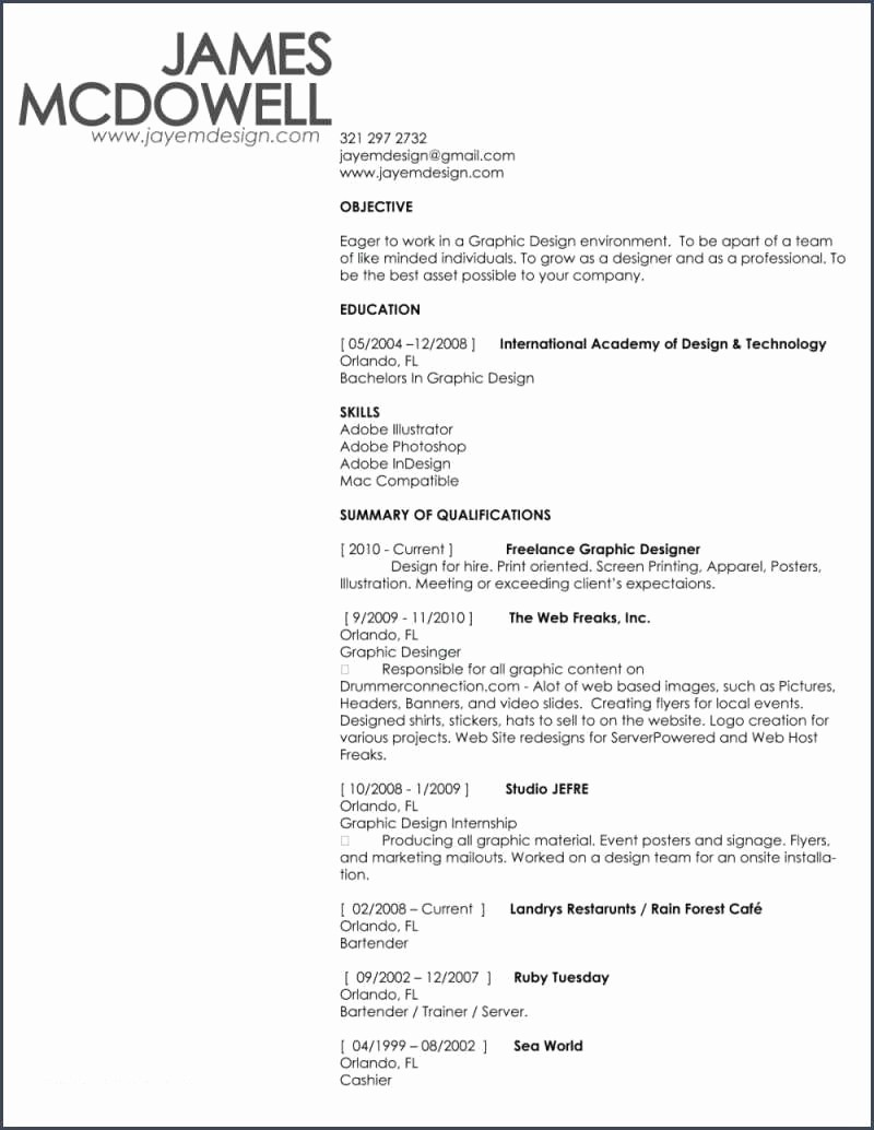 Copy Of A Resume format Fresh Basic Cv Example to Copy and Basic Cv Example to Copy
