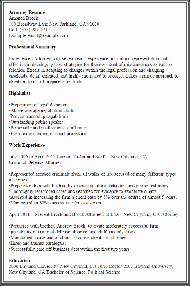 Copy Of A Resume format Fresh the All Time Best Free Resume Samples Myperfectresume