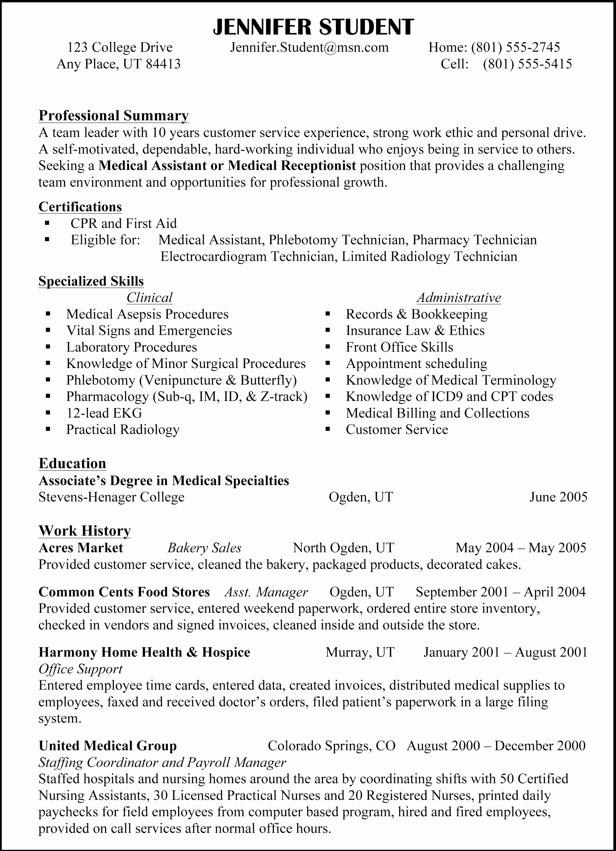 Copy Of A Resume format Inspirational Copy Resume format