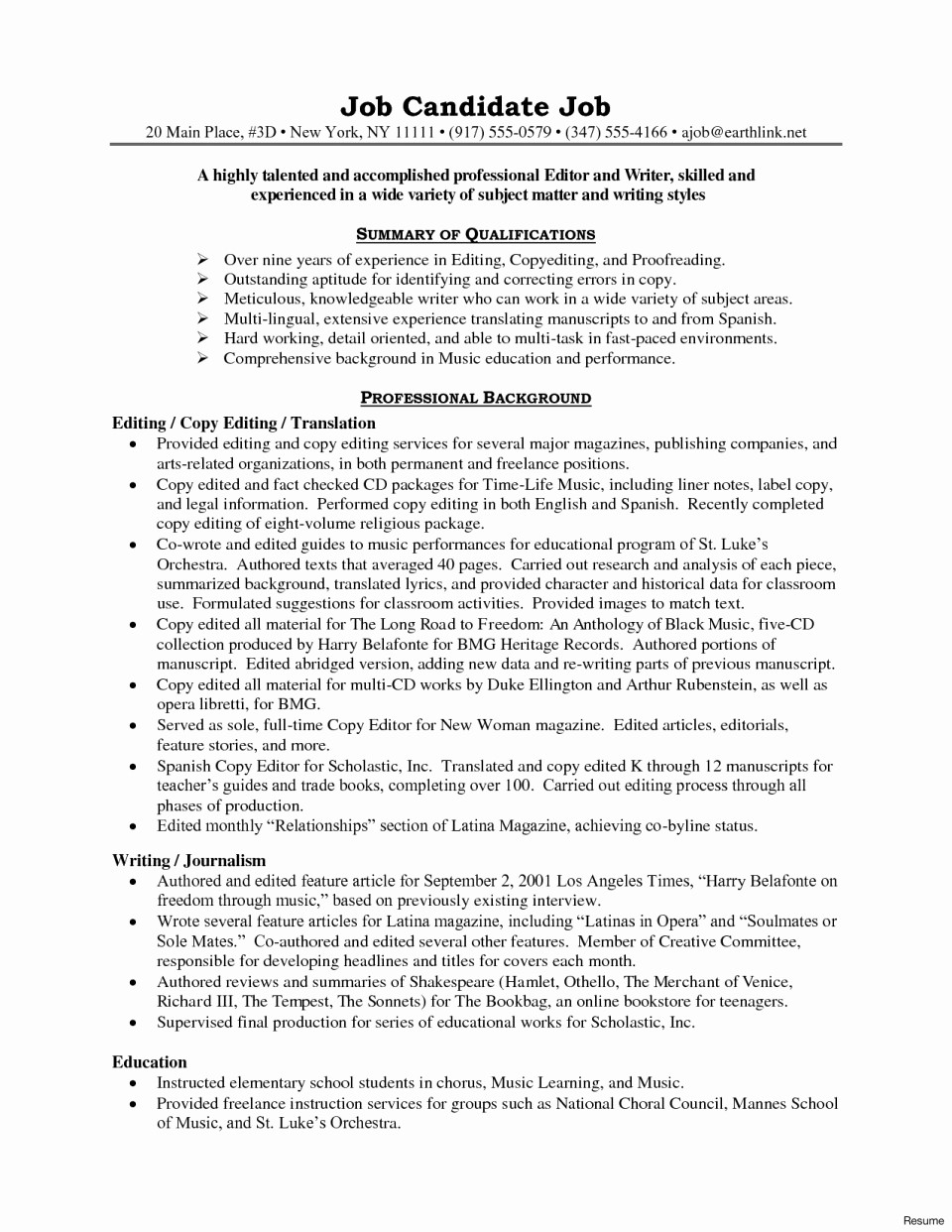Copy Of A Resume format Luxury Copy Editor Job Description Letsridenow