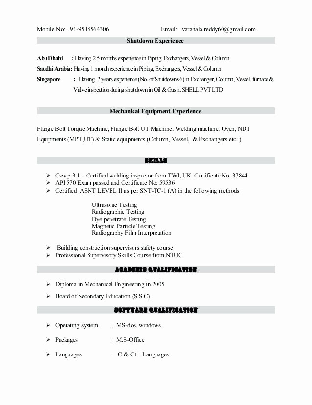 Copy Of A Resume format New soft Copy format Resume – Job Resume Example