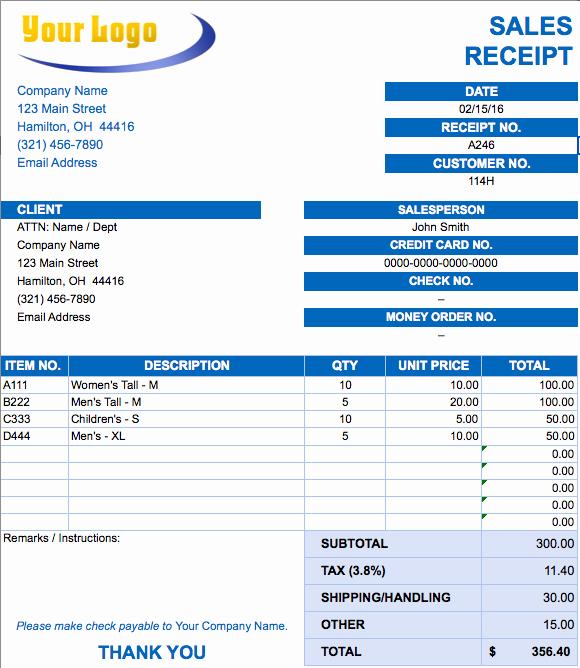 Copy Of An Invoice Template Unique Free Excel Invoice Templates Smartsheet