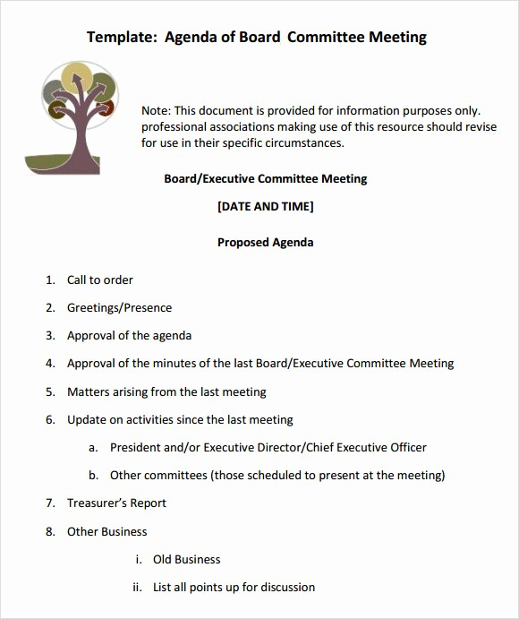 Corporate Board Meeting Minutes Template Elegant 12 Sample Board Meeting Agenda Templates