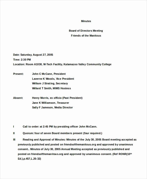Corporate Meeting Minutes Template Free Awesome Cab Meeting Template Wowkeyword