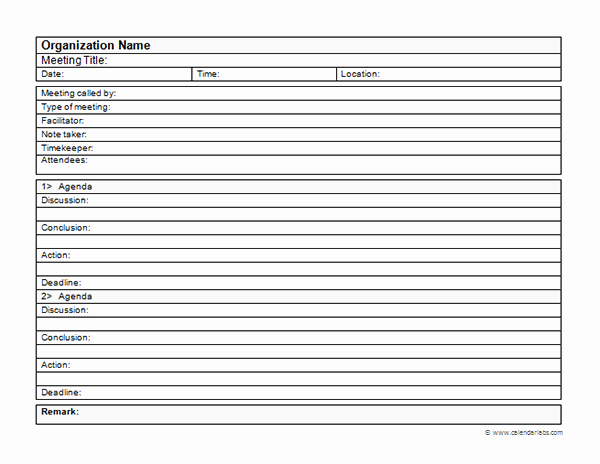 Corporate Meeting Minutes Template Free Beautiful Business Meeting Minutes Template Free Printable Templates