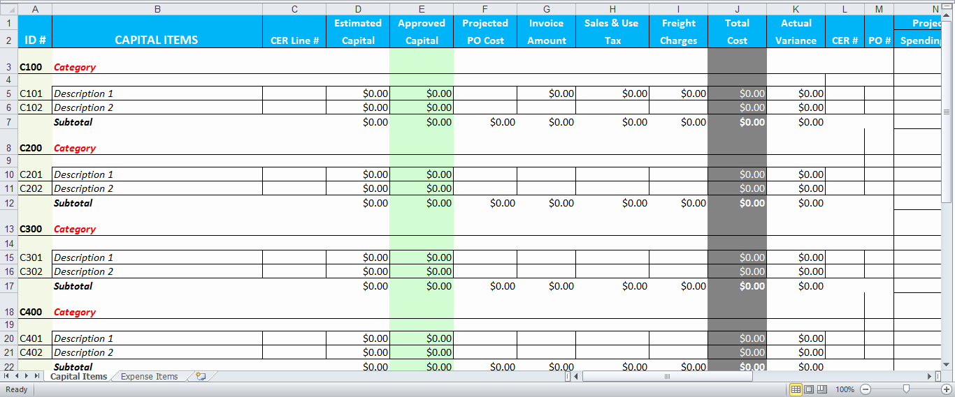 Cost Per Mile Calculator Excel Luxury Business Bud format Spreadsheet Bud Templates