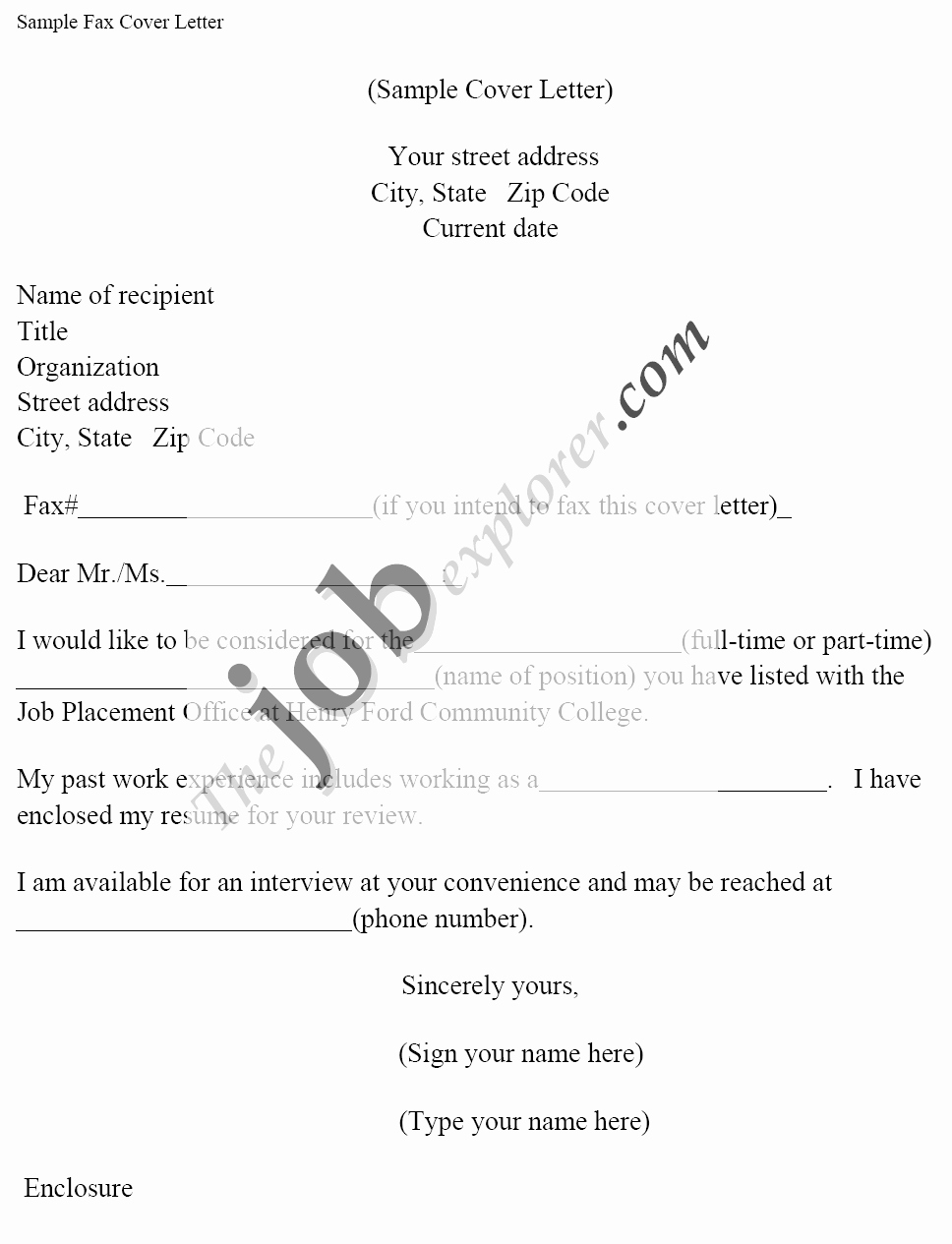 Cover Letter for A Fax Lovely 7 Fax Cover Letter for Job Application