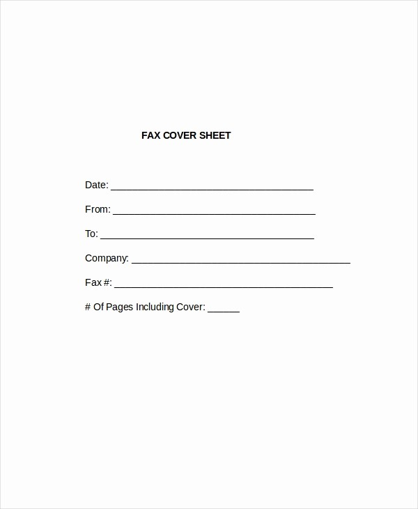 Cover Letter for Fax Document New Cover Letter Template 17 Free Word Pdf Documents