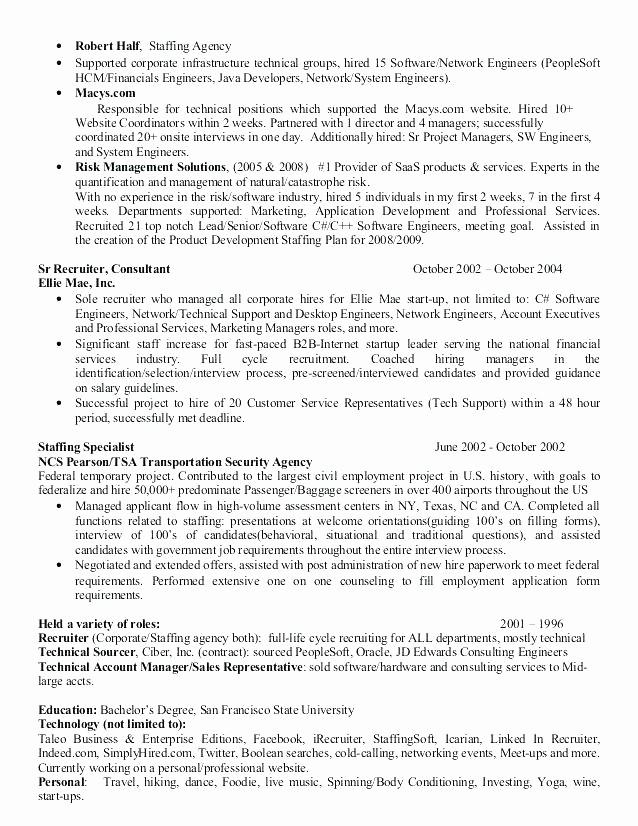 Cover Letter for Staffing Agency Elegant Cover Letter to Temp Agency – Trezvost