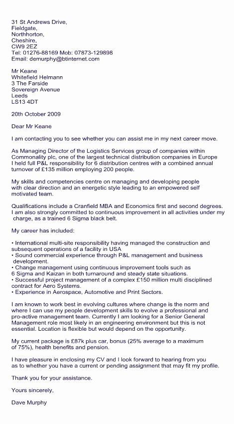 Cover Letter for Staffing Agency Fresh Cover Letter for Recruitment Consultant