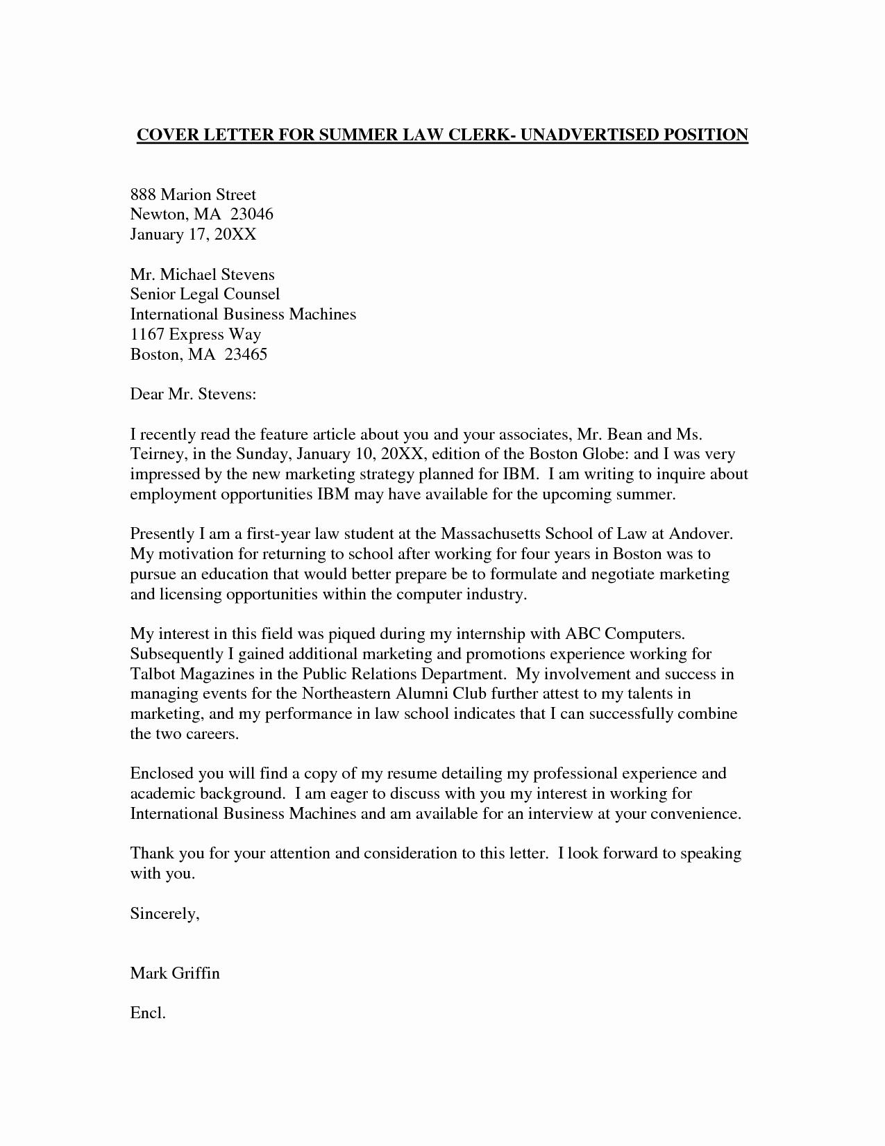 Cover Letter for Staffing Agency Fresh Employment Cover Letter Template Wondercover Letter