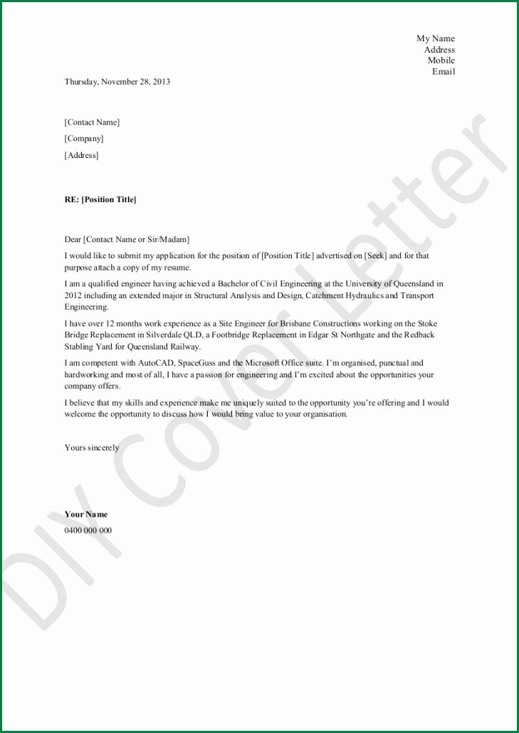 Cover Letter Microsoft Word Template Elegant Microsoft Cover Letter Template to Pin On