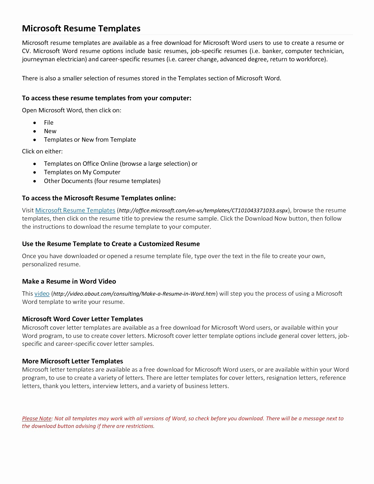 Cover Letter Microsoft Word Template Fresh Cover Letter Word Template Free Download