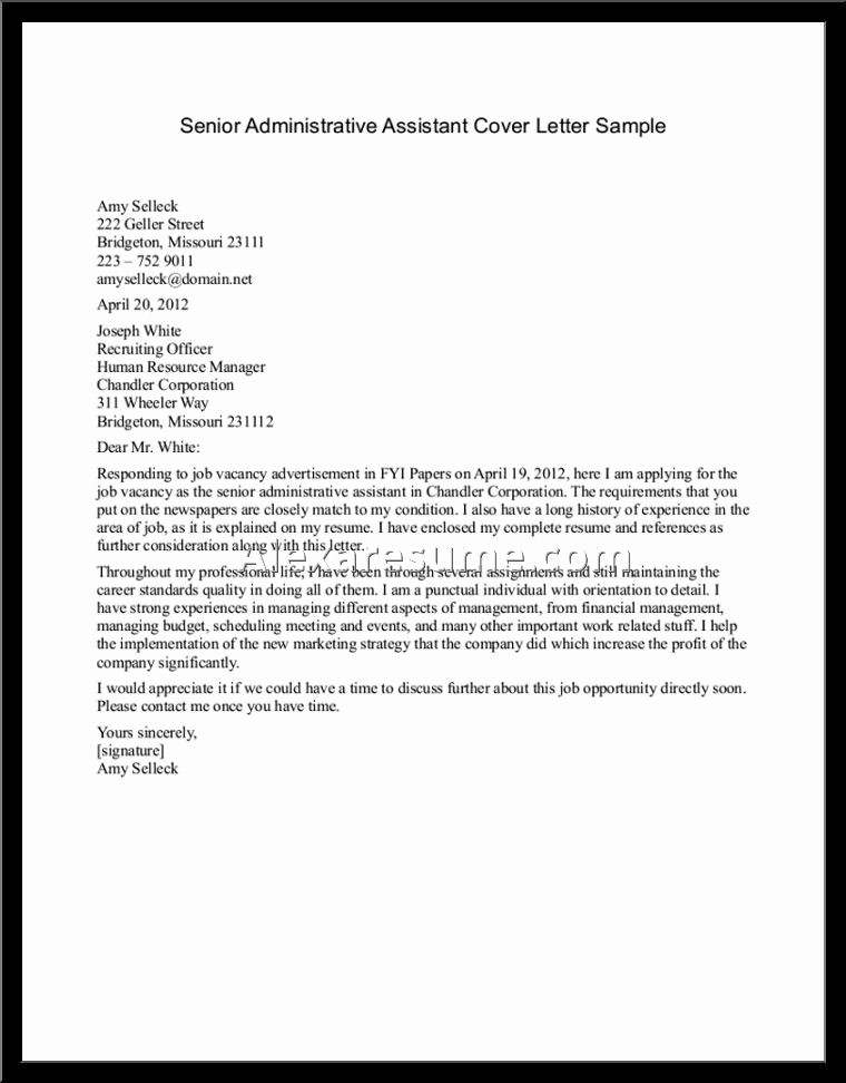Cover Letter On A Resume New Proper Best Resume Cover Letter – Letter format Writing