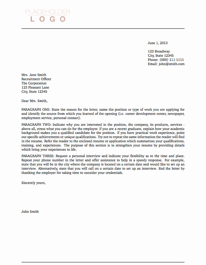 Cover Letter Template for Pages Luxury Latex Templates Cover Letters