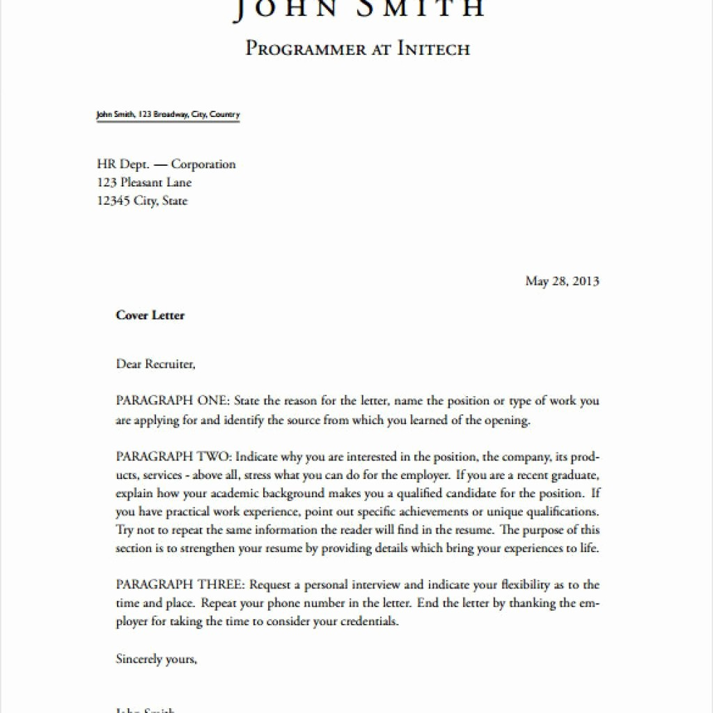 Cover Letter Template Free Download Elegant Amazing Free Cover Letter Templates Downloads – Letter