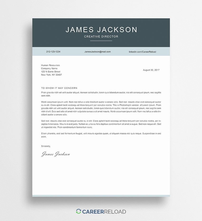 Cover Letter Template Free Download Fresh Download Free Resume Templates Free Resources for Job