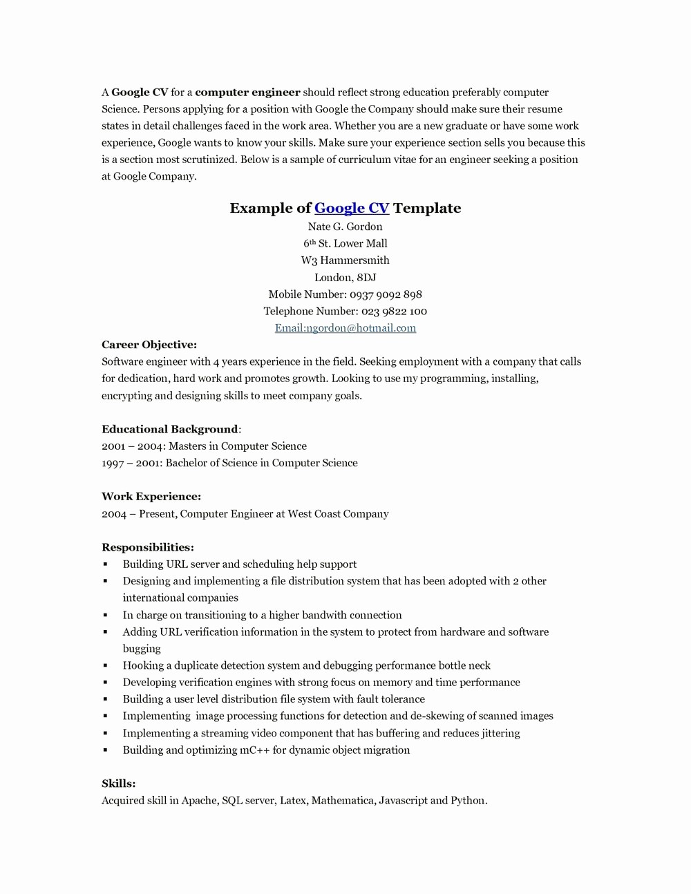 Cover Letter Template Free Download Fresh Resume Cover Letter Template Free Download Cover Letters