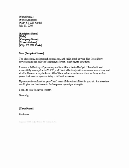 Cover Letter Template Word 2013 Lovely Download Cover Letter Templates and Open with Microsoft