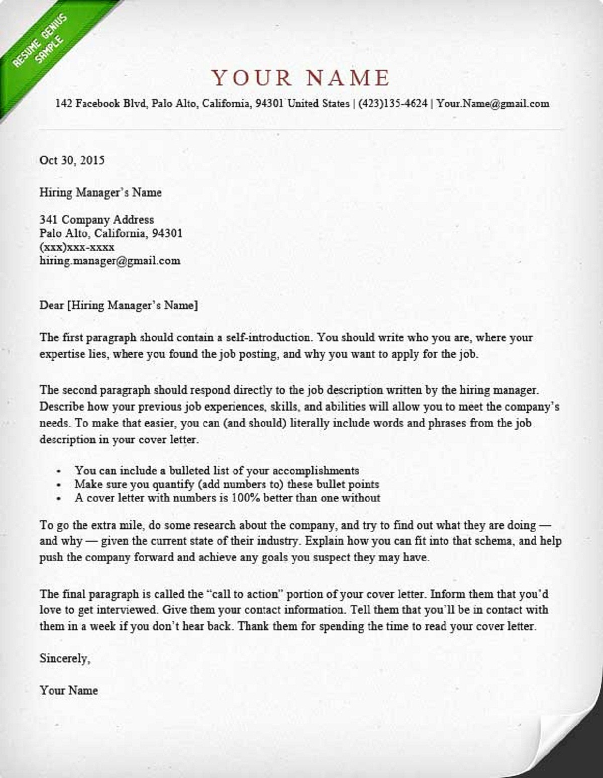 Cover Letter Templates for Resumes New How to Write A Cover Letter Guide with Sample