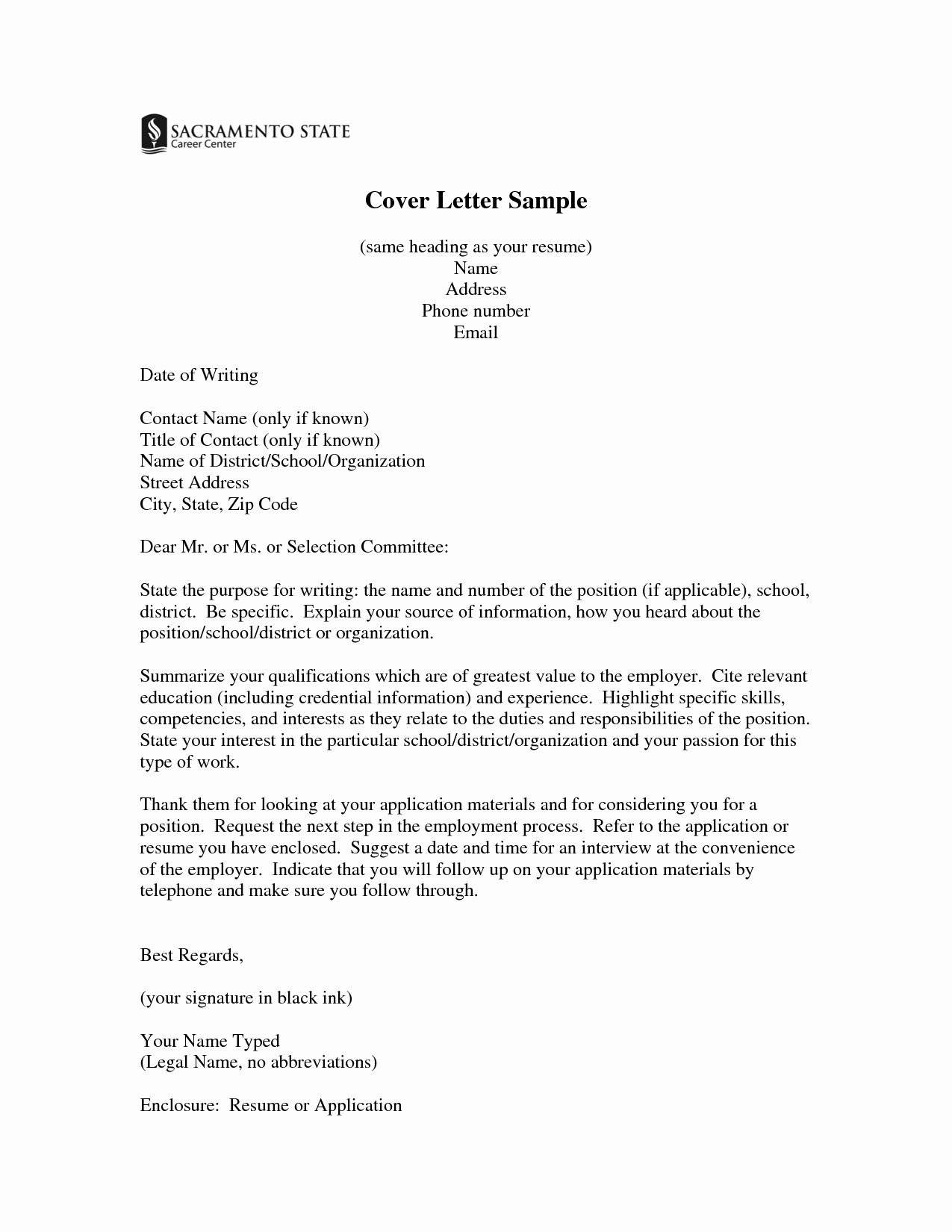 Cover Letter to A Resume Awesome Same Cover Letters for Resume