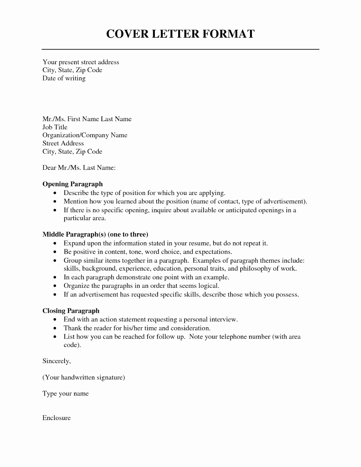 Cover Letter to A Resume Best Of Cover Letter format Resume Cv Example Template