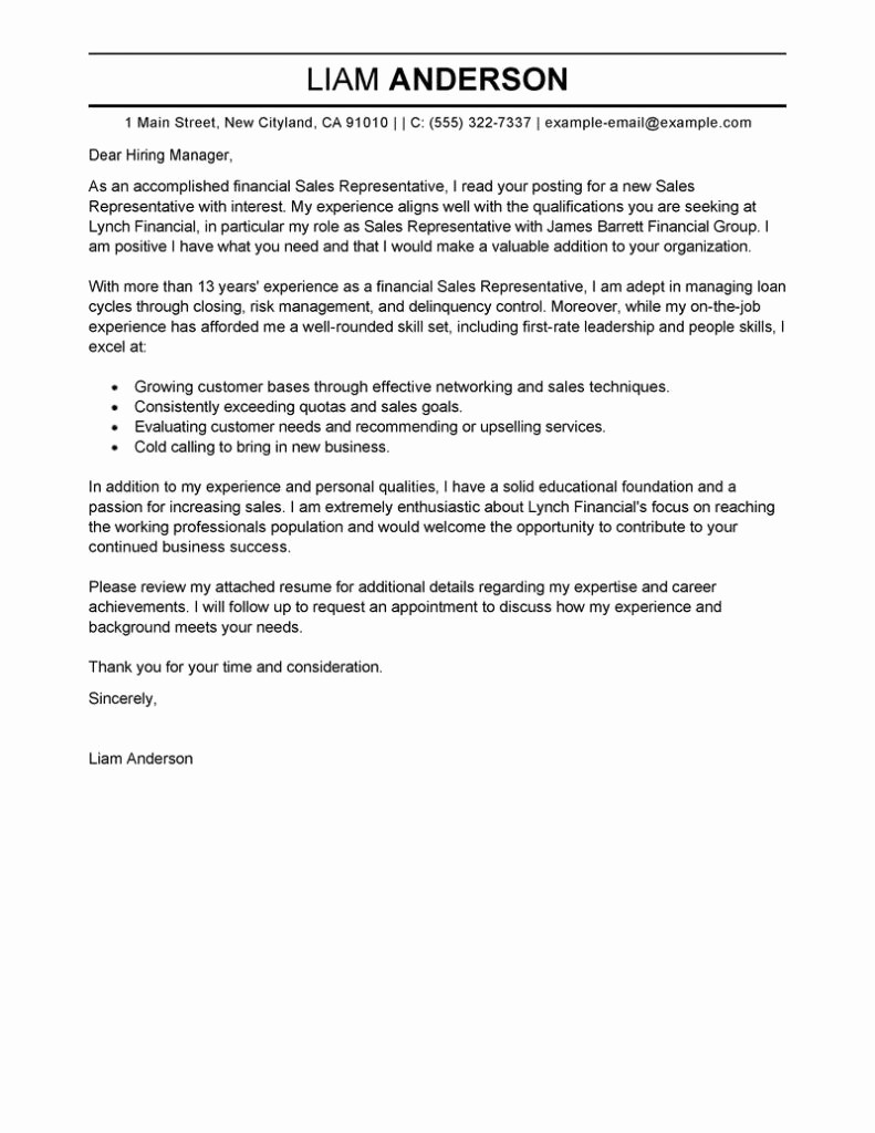 Cover Letter to A Resume Fresh Resume Cover Letter Examples Resume Cv