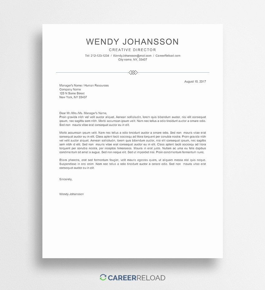 Cover Letter with Photo Template Fresh Download Free Resume Templates Free Resources for Job