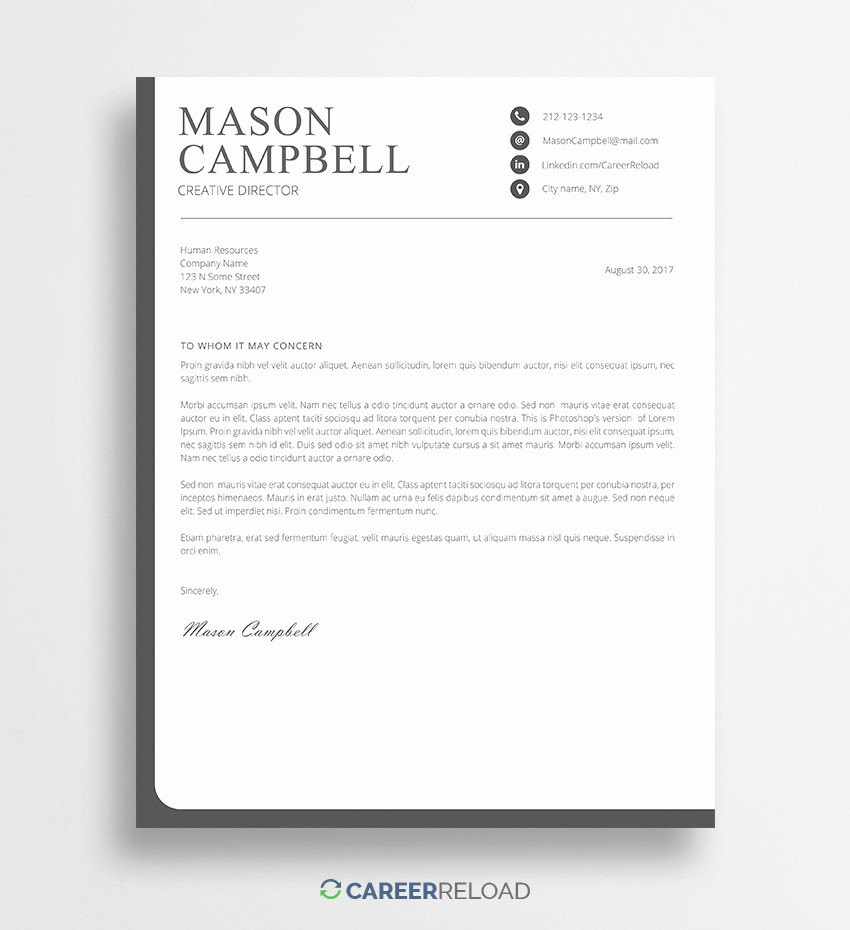 Cover Letter with Photo Template Luxury Download Free Resume Templates Free Resources for Job