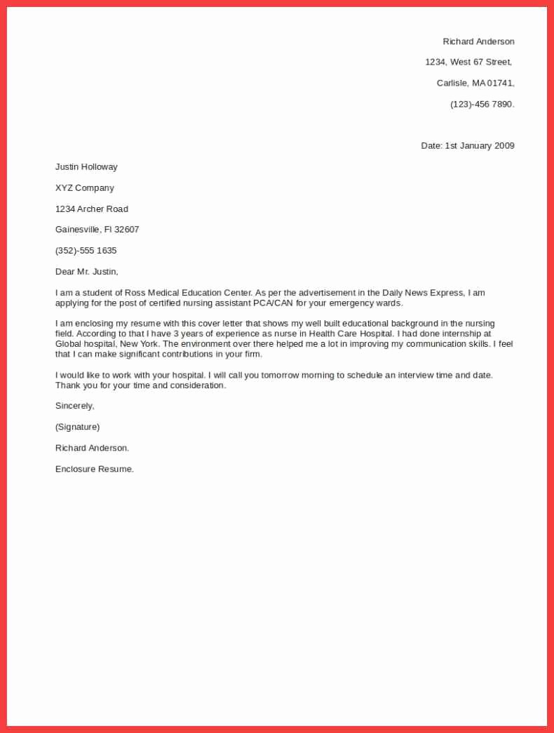 Cover Letter with Photo Template New Short Cover Letter Template