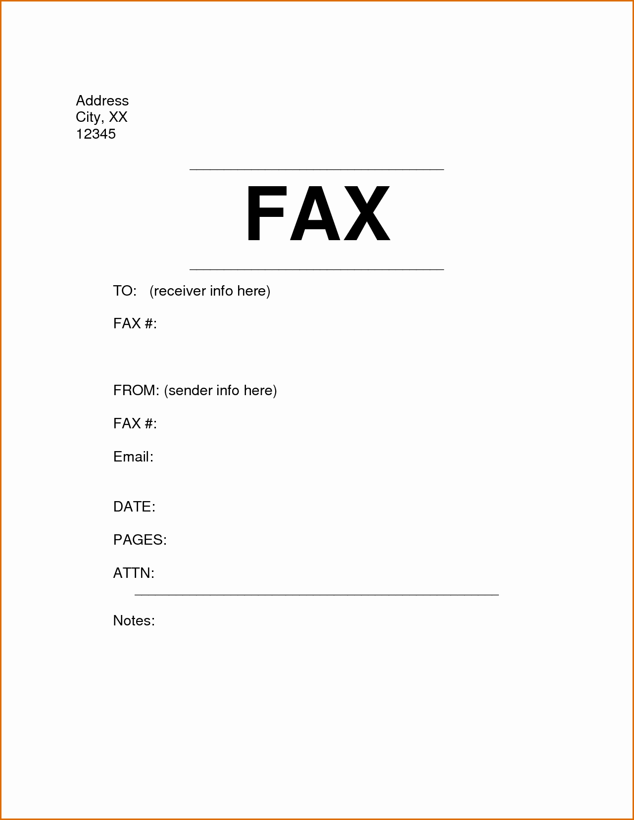 Cover Page for A Fax Best Of 6 Fax Cover Sheet format