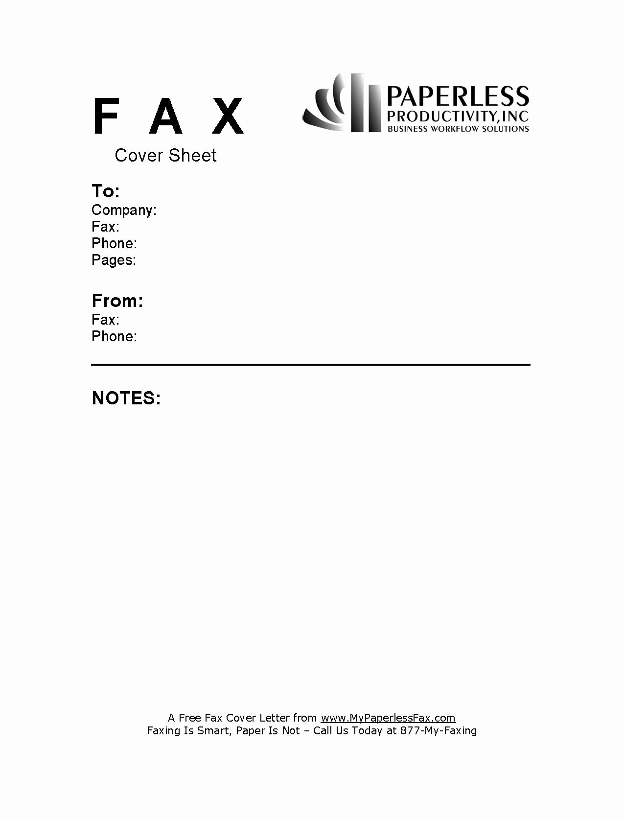 Cover Page for A Fax Unique Sample Fax Cover Page