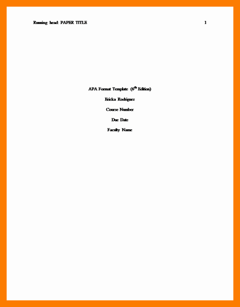 Cover Page for Literature Review Fresh 10 11 formatting Cover Page