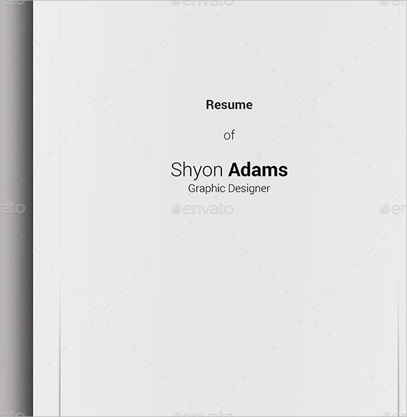 Cover Page for Resume Template Beautiful 14 Resume Cover Pages