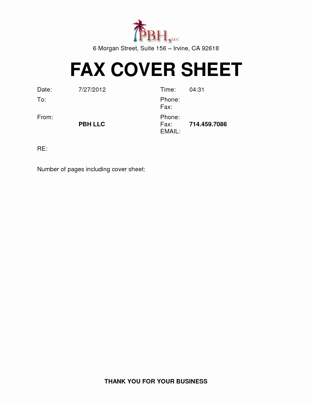 Cover Page for Resume Template Elegant Printable Fax Cover Sheet Template Famous Blank Fax Cover