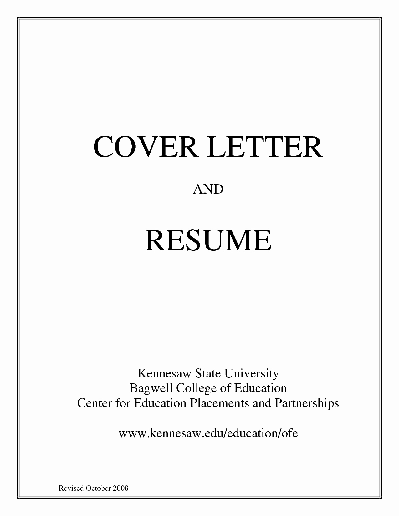 Cover Page for Resume Template Luxury Resume Portfolio Cover Page Examples Fresh Simple Sample