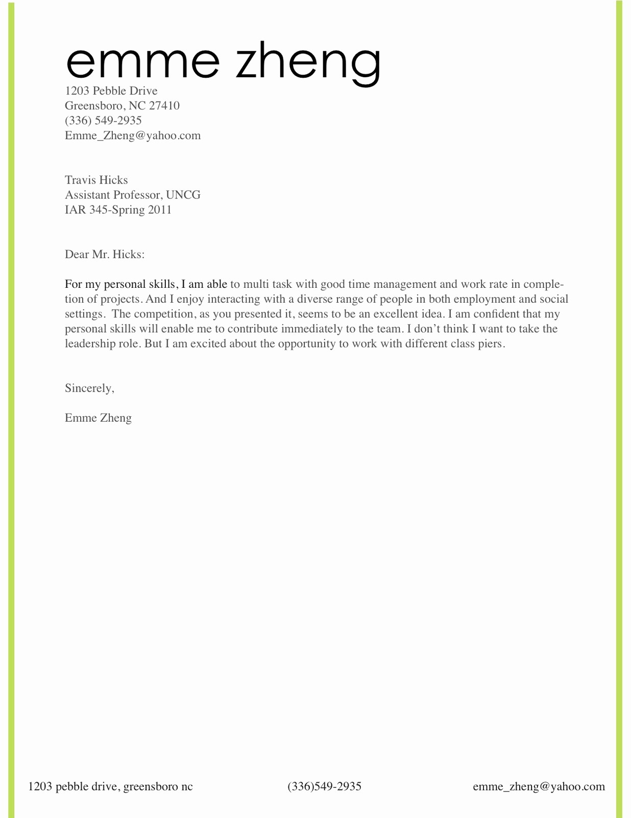 Cover Page for Resume Template New Resume Template Category Page 1 Efoza