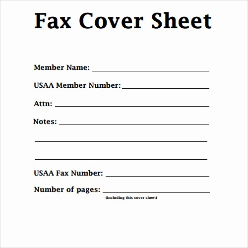 Cover Sheet for Fax Example Best Of Free Printable Fax Cover Sheet Pdf Word Template Sample