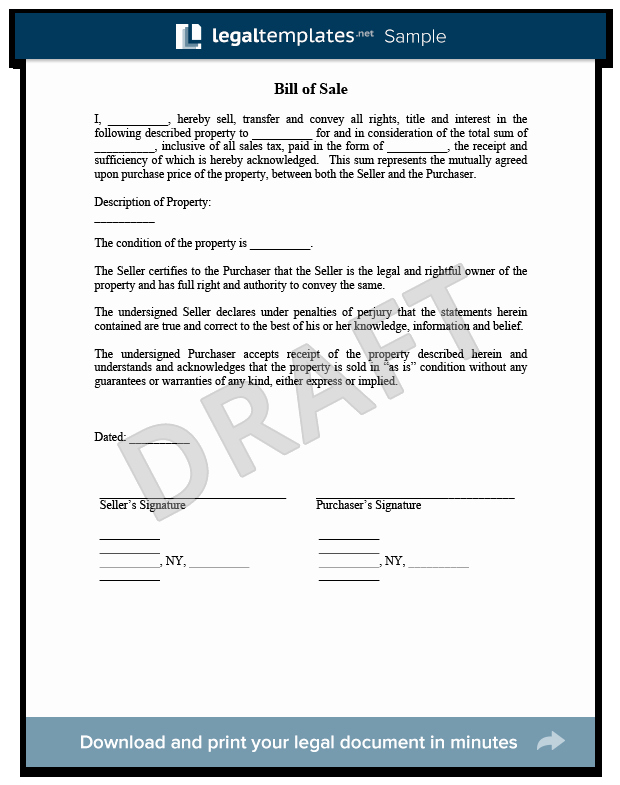 Create A Bill Of Sale New Bill Of Sale Create A form for A Car Motorcycle Etc