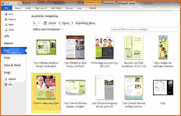 Create A Flyer In Word Best Of 11 How to Create A Flyer In Word