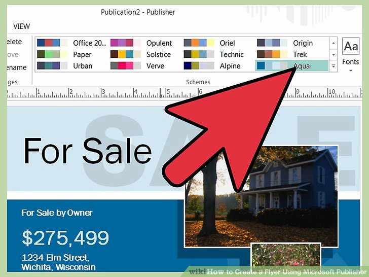 Create A Flyer In Word Best Of How to Create A Flyer Using Microsoft Publisher 11 Steps
