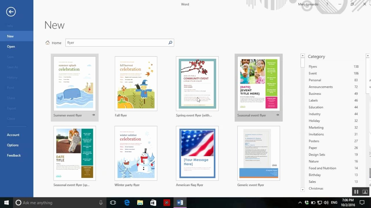 Create A Flyer In Word Elegant How to Create A Flyer On Word 2016