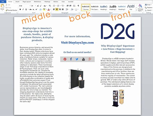 Create A Flyer In Word Elegant How to Make A Brochure On Word