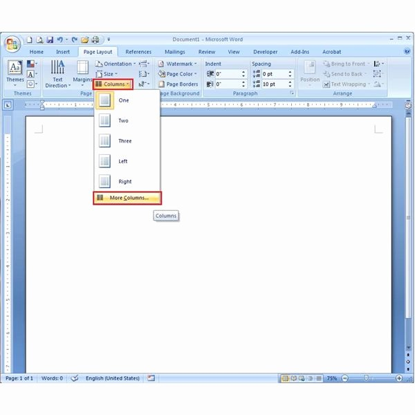 Create A Flyer In Word Elegant How to Make A Pamphlet Using Microsoft Word 2007 Learn