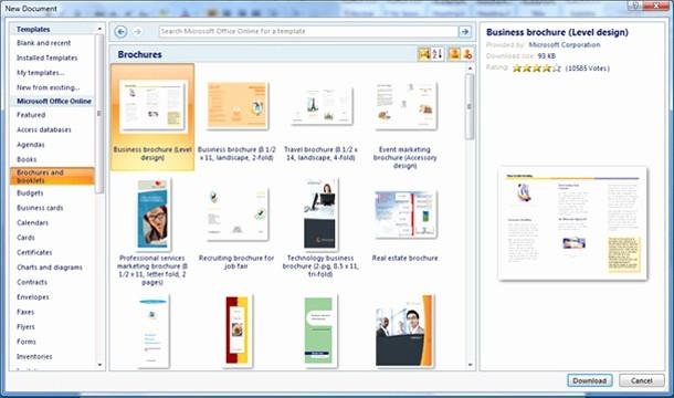 Create A Flyer In Word Fresh 10 Best Of Blank Brochure Template Word 2007
