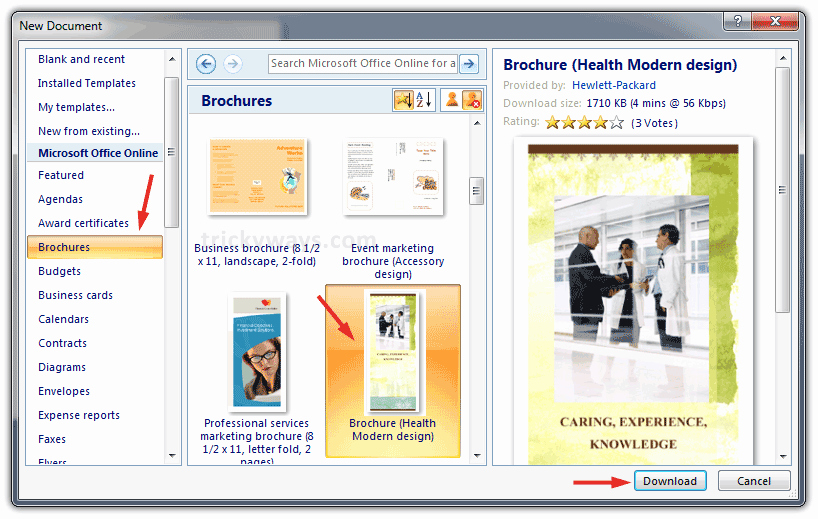 Create A Flyer In Word Inspirational Create Brochure In Word 2007 or 2010