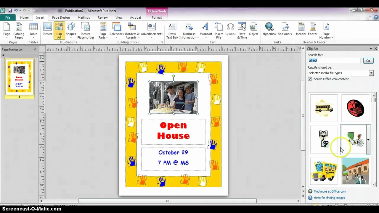 Create A Flyer In Word Inspirational Publisher 2010 Creating Flyers From Templates