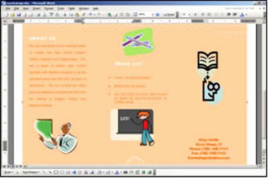 Create A Flyer In Word Lovely 15 Best Tutorials Of Brochure Design Design