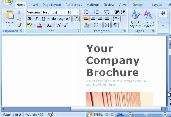 Create A Flyer In Word Lovely Free Brochure Maker Template for Ms Word